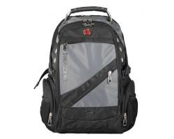 Рюкзак SWISSGEAR 8810 + USB и AUX выход для наушников + дождевик