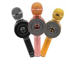 Беспроводной караоке микрофон Wster WS 668