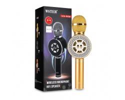 Беспроводной караоке микрофон Wster WS-669