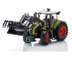 Инерционный трактор-погрузчик. Светозвуковые эффекты.