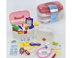 """Игровой набор доктора """"Волшебная аптечка"""" 35 предметов в чемоданчике Joy Toy 2552"""