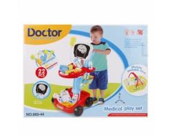 Игровой набор Доктор 23 предмета свет и звук (660-44)
