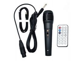 ZQS-6201 BT Speaker портативная Bluetooth колонка с микрофоном и пультом ДУ