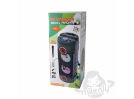 ZQS-6208 BT Speaker портативная Bluetooth колонка с микрофоном и пультом ДУ