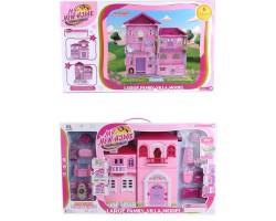 Домик для кукол с мебелью My Home 6655