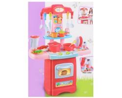 """Игровой набор со светом и звуком + льется вода """"Кухня"""" 30 предметов 889-120 (3+)"""