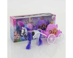 """Игровой набор """"Кукла в карете с лошадью"""" 686-716 (3+)"""
