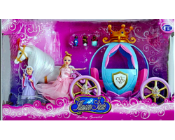 """Игровой набор """"Кукла с каретой"""" 205A (3+)"""